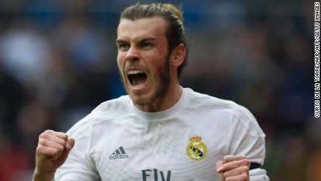 Gareth Bale scored four goals for the first time in Real Madrid's 10-2 win over Rayo Vallecano.