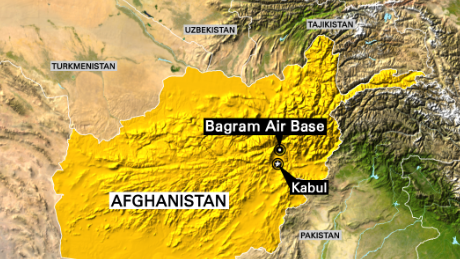 The ancient city of Bagram is more than 30 miles north of the Afghan capital, Kabul.