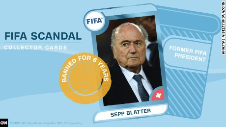 FIFA scandal collector cards: Get the whole set!