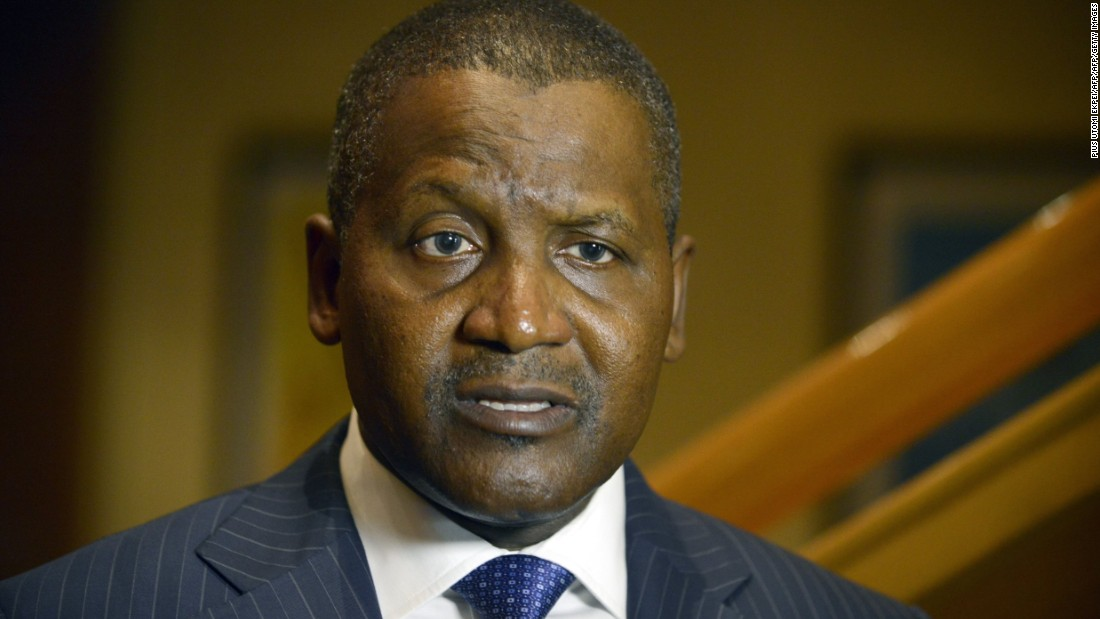 Nigerian billionaire Aliko Dangote is the richest man in Africa according to Forbes. His portfolio includes cement, sugar and flour businesses, which have helped to generate wider innovation and employment.