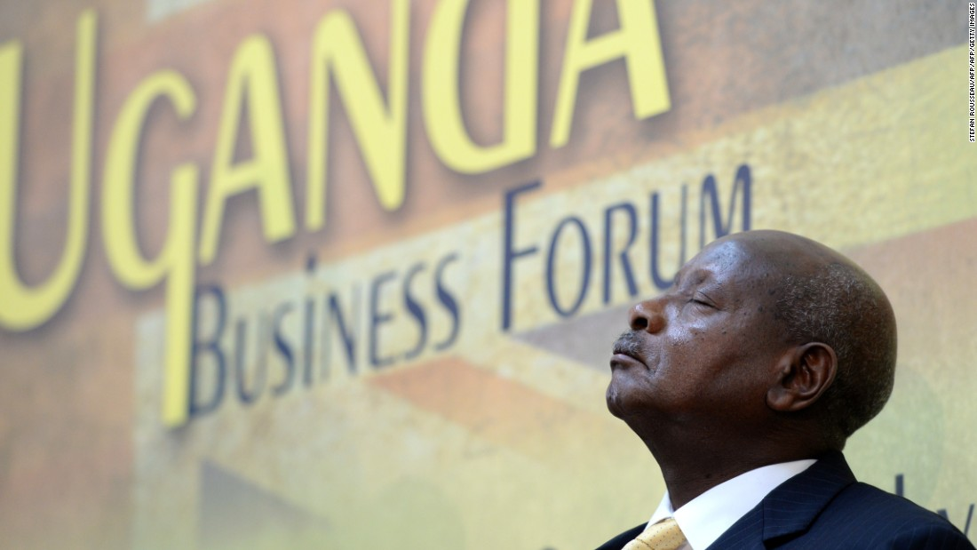 Ugandan President Yoweri Kaguta Museveni attends the UK-Uganda Business Forum at Lancaster House in London in 2014. Academic Antonio Malfense Fierro argues the nation's economy would be better served by shifting focus from small and medium-sized enterprises to large-scale portfolio entrepreneurs.