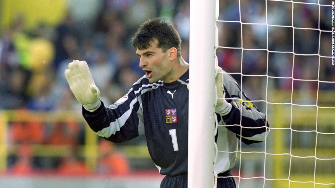 Srnicek played all three games for his country at the Euro 2000 championship, retiring a year later after they failed to qualify for the 2002 World Cup.