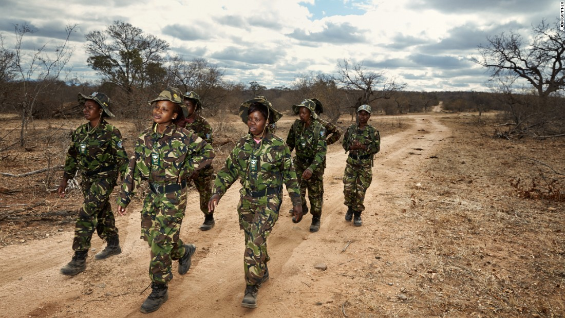 "Photographer <a href=""http://juliagunther.com/"" target=""_blank"">Julia Gunther </a>captured the lives of one of the fiercest anti-poaching groups in South Africa: the <a href=""http://www.blackmambas.org/"" target=""_blank"">Black Mambas</a>."