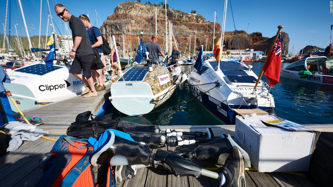 The team set off from La Gomera in the Canary Islands on 20 December. After a five day delay due to adverse weather conditions, strong winds now behind the rowers have got organisers predicting this could be the quickest Atlantic rowing race to date.