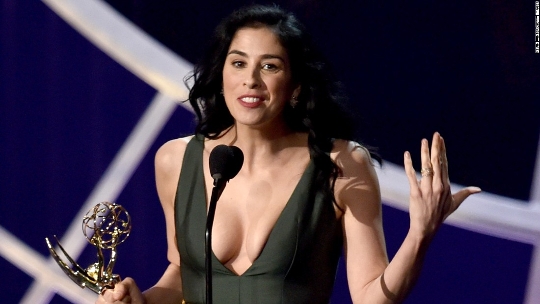 "Sarah Silverman's resume reads like a greatest hits of TV comedy jobs, between stints on ""Saturday Night Live,"" ""The Larry Sanders Show"" and ""Seinfeld."" But it's with her no-holds-barred stand-up that Silverman has left her mark. Take, for example, one of her most infamous one-liners: ""I was raped by a doctor, which is so bittersweet for a Jewish girl."""