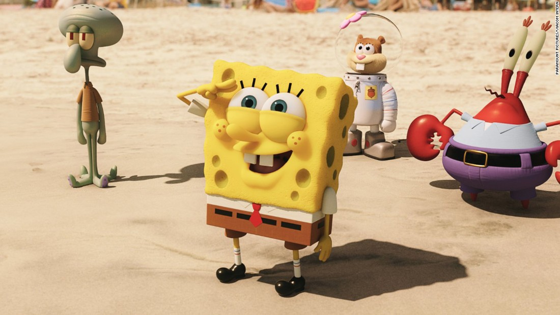 "<strong>""The Spongebob Movie: Sponge Out of Water""</strong>:  This 3-D animated/live action comedy film is based on the very popular Nickelodeon television series and the sequel to the successful 2004 ""SpongeBob SquarePants Movie.""  <strong>(Amazon Prime, Hulu) </strong>"