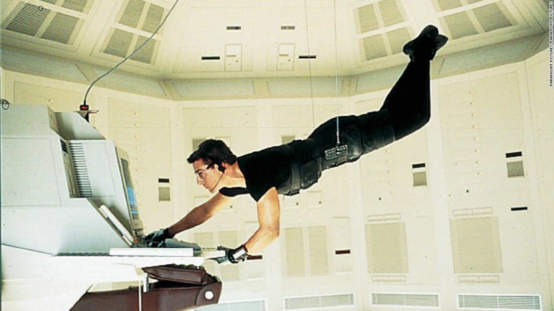 "<strong>""Mission: Impossible""</strong>: Tom Cruise is an agent who must clear his name in the first film in the franchise. <strong>(Netflix, Hulu)</strong><br />"