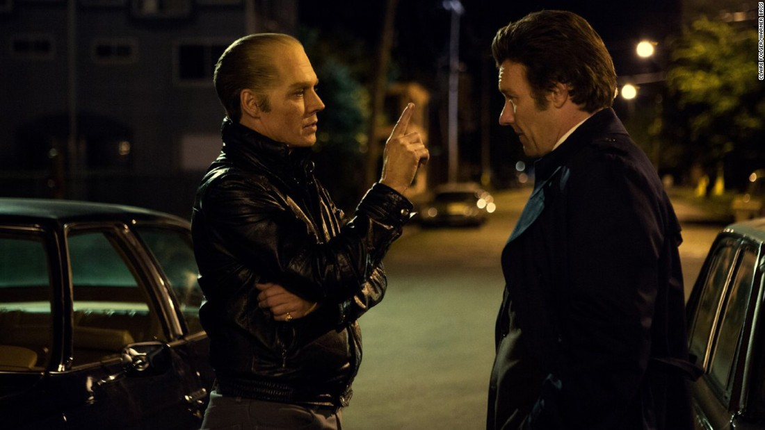"<strong>""Black Mass""</strong>: Johnny Depp stars as Boston mobster James ""Whitey"" Bulger, and Joel Edgerton plays John Connolly. <strong>(iTunes) </strong>"