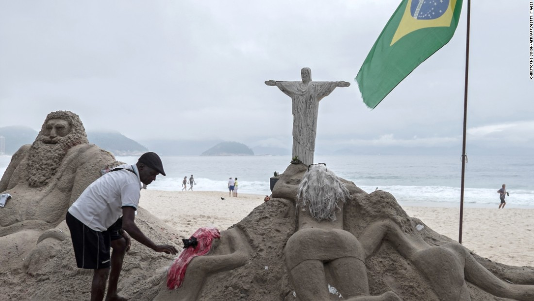 <strong>February, Rio</strong>: Can someone go to Rio and not visit Copacabana beach? It seems unlikely. Brazil hosted the 2014 World Cup and in seven months welcomes the world at the summer Olympics.