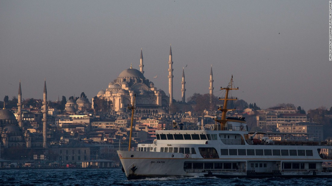 <strong>April, Istanbul</strong>: Palaces, mosques and churches are in abundance in Istanbul, which rests in both Europe and Asia -- separated by the Bosphorus Strait. Last year Roger Federer played in Istanbul and walked away victorious.
