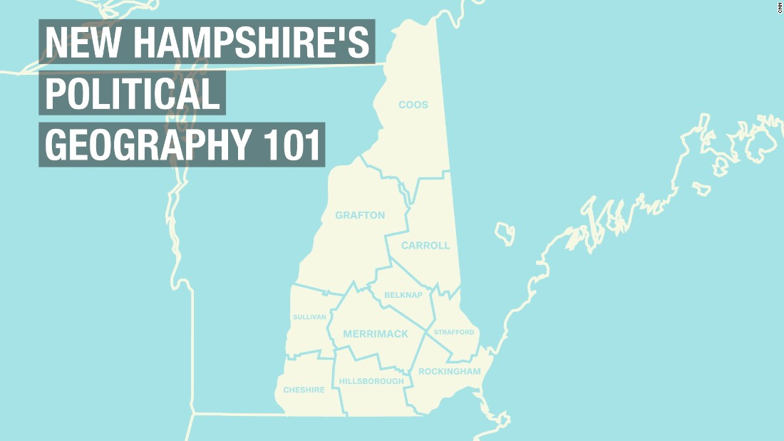 Breaking down New Hampshire's political geography