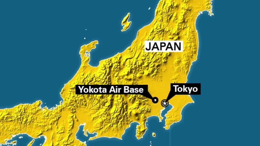 Suspicious Package Suspect Caught At US Air Base In Japan CNN - Us air force bases in japan map
