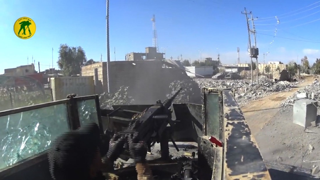 Iraqi forces push ISIS out of government compound in Ramadi