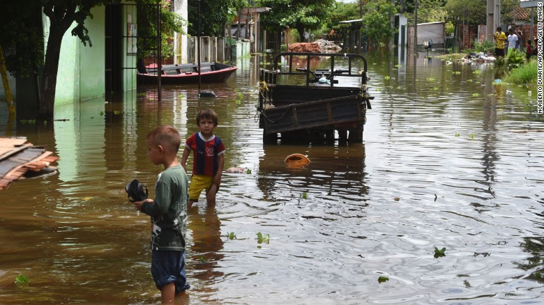 Flooding forces more than 150,000 people from homes