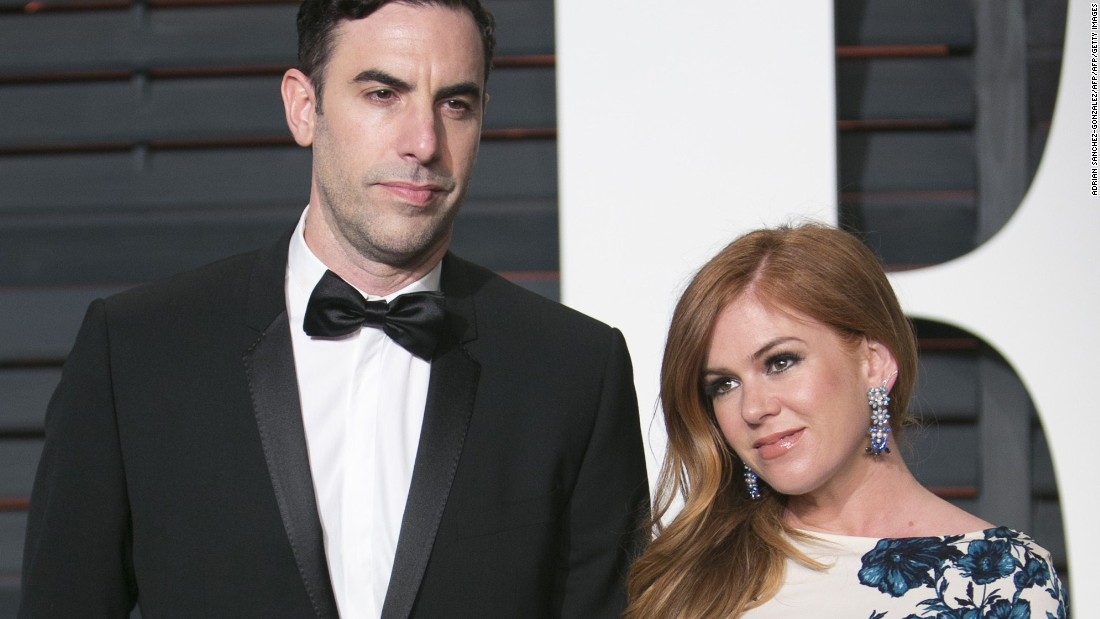"The comic <a href=""http://money.cnn.com/2015/12/27/news/world/sacha-baron-cohen-isla-fisher-donation-syria/index.html"" target=""_blank"">couple split $1 million between two charities</a> to help children affected by the refugee crisis. The pair quietly gave half of their donation to UK-based charity Save the Children and the remainder to the International Rescue Committee. <br />The funds will provide 250,000 measles vaccinations for children in northern Syria, as well as helping support ""education, health care, shelter and sanitation"" for families in and around Syria, said the charities."