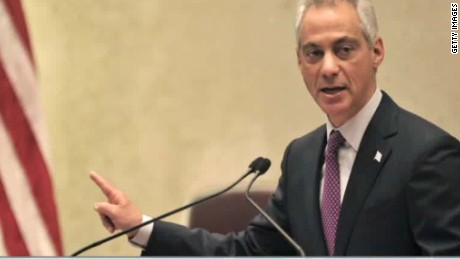 chicago mayor rahm emanuel cuts vacation short police shooting flores sot nr_00003805.jpg