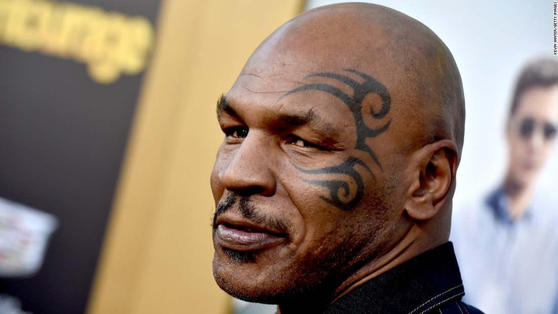 "Hopefully, Mike Tyson didn't have a ""Hangover"" after he celebrated his 50th on June 30."