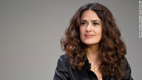 "NEW YORK, NY - AUGUST 06:  Salma Hayek attends  Meet The Filmmaker: Salma Hayek, ""Kahlil Gibran's The Prophet"" at Apple Store Soho on August 6, 2015 in New York City.  (Photo by Jamie McCarthy/Getty Images)"