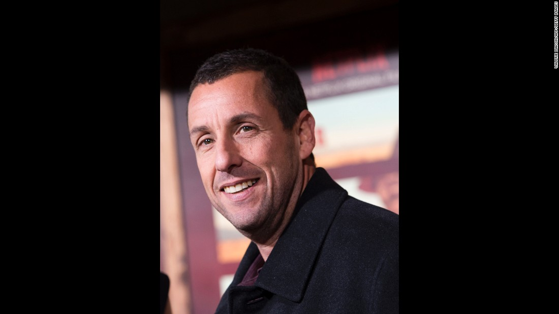 September 9 was Adam Sandler's big day.