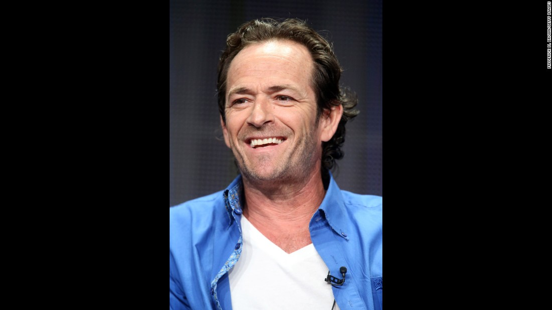 "Where has time gone? ""Beverly Hills 90210"" co-star Luke Perry turned 50 on October 11."