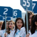 grid girls formula e