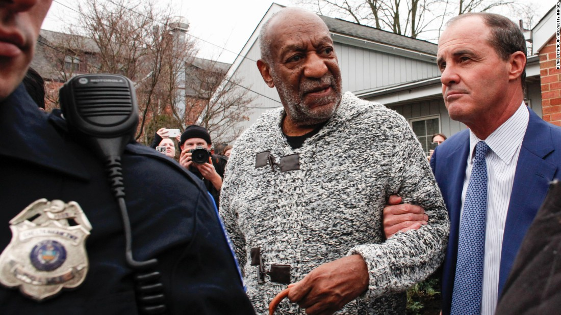"<strong>December 30: </strong>Comedian Bill Cosby leaves a courthouse in Elkins Park, Pennsylvania, after he was <a href=""http://www.cnn.com/2015/12/30/us/bill-cosby-sexual-assault-investigation-pennsylvania/index.html"" target=""_blank"">arraigned on charges of sexual assault</a>. Cosby, whose legacy has been tarnished by <a href=""http://www.cnn.com/2014/12/13/showbiz/gallery/cosby-accusers/index.html"" target=""_blank"">multiple accusations</a> of sexual assault, faces three felony charges in a case connected to a 2004 accusation: A probable cause affidavit alleges that Cosby drugged and sexually assaulted former Temple University employee Andrea Constand when she visited his suburban Philadelphia home. Cosby's attorneys called the criminal case against him ""unjustified"" and vowed to fight it."