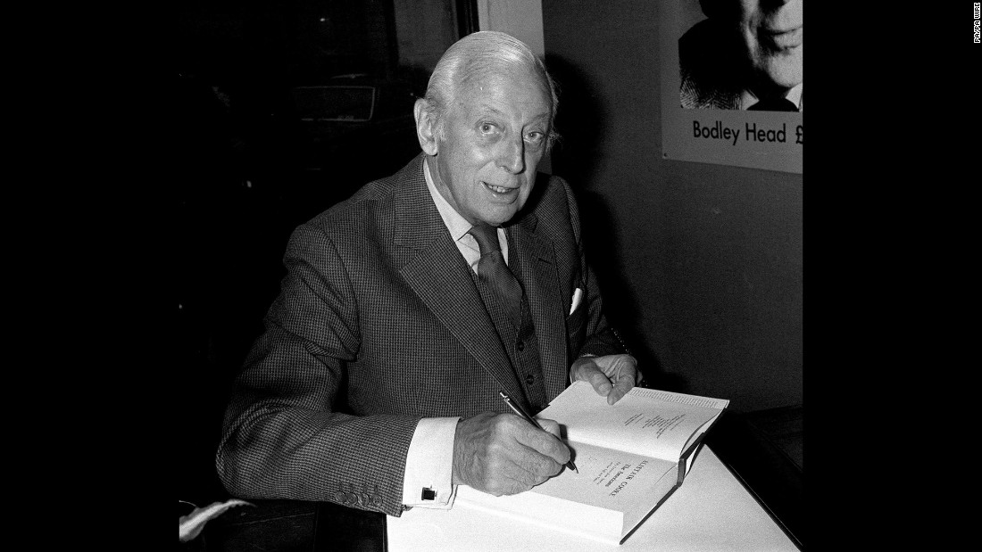 "For decades, Alistair Cooke was America's favorite British TV host, welcoming PBS viewers to ""Masterpiece Theatre"" from 1971 to 1992. He also hosted a 1950s CBS arts series, ""Omnibus."""