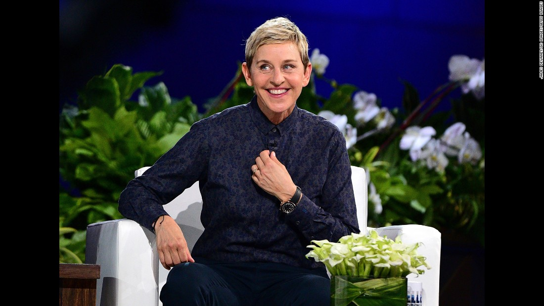 "In the '90s, Ellen DeGeneres was probably best known as a comedian and sitcom star, but these days she's most closely associated with her talk show, ""The Ellen DeGeneres Show,"" which has run since 2003. Oh, she's also hosted the Oscars, Emmys and Grammys."