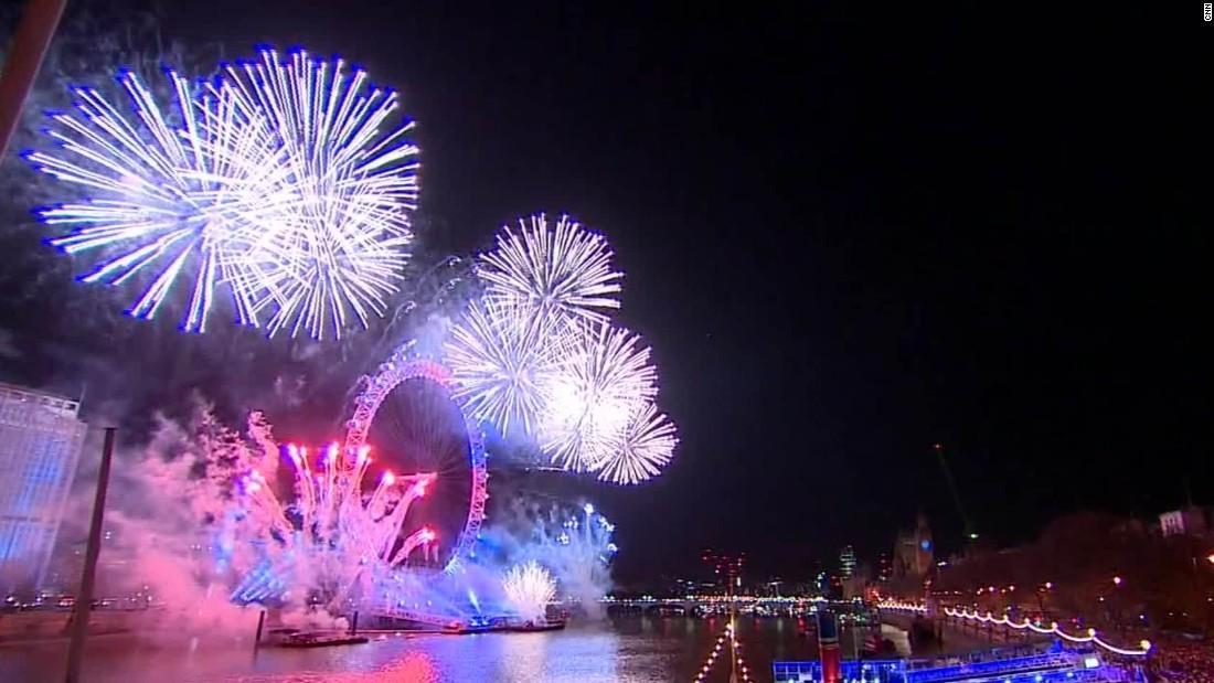 London New Years Eve 2018