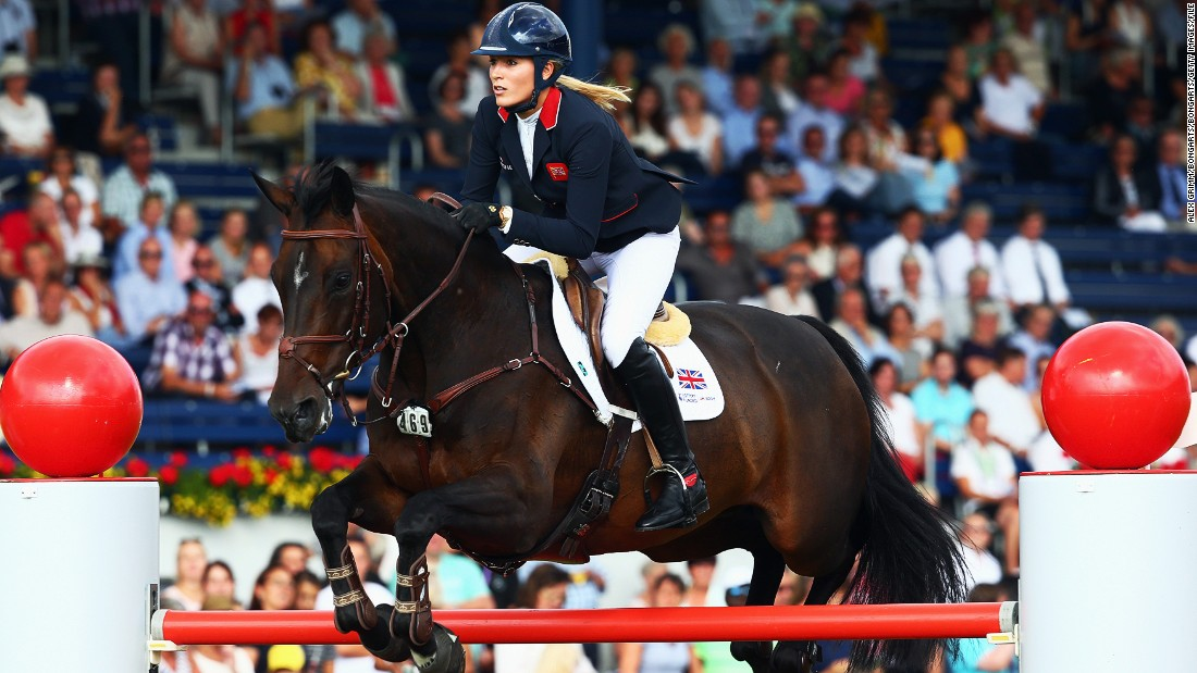 Jessica Mendoza is one the most exciting young stars in the world of showjumping and is aiming to qualify for the Rio Olympics.