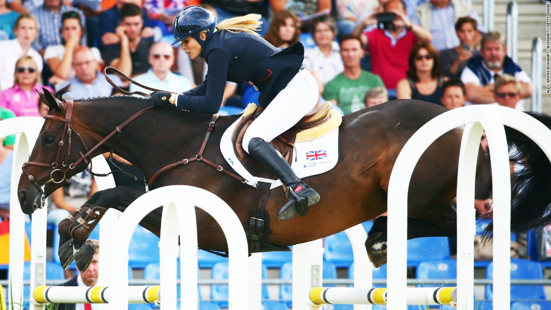 She overcame serious injury at the age of 10 after falling from her horse to become one of the most talented riders on the equestrian circuit.