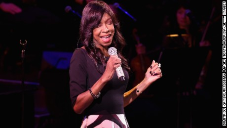 NEW YORK, NY - MARCH 02:  Natalie Cole performs on stage at SeriousFun Children's Network's New York City Gala at Avery Fisher Hall, Lincoln Center on March 2, 2015 in New York City.  (Photo by Dimitrios Kambouris/Getty Images)
