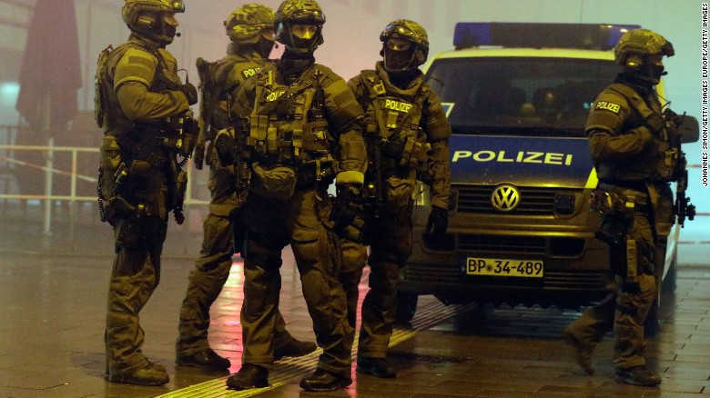 Munich suicide attack threat came from multiple sources