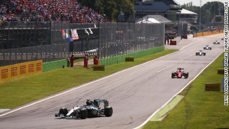 Italy's famous Monza racetrack is currently too long for Formula E race cars.