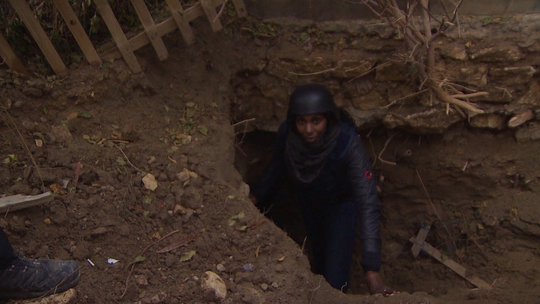 ISIS tunnels: How ISIS militants evade airstrikes in Ramadi
