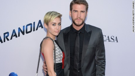 Miley Cyrus and Liam Hemsworth ended their engagement in 2013, but got back together last year.