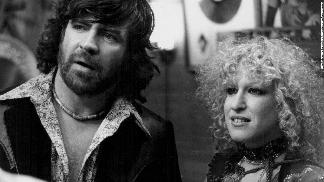 "1979's ""The Rose,"" starring Alan Bates and Bette Midler, was loosely based on the life of Janis Joplin. Midler earned an Oscar nomination for her performance in the film directed by Mark Rydell."