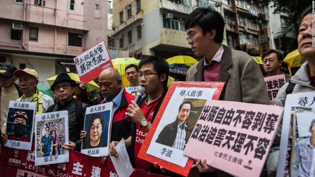 UK, Sweden express concern over missing Hong Kong booksellers