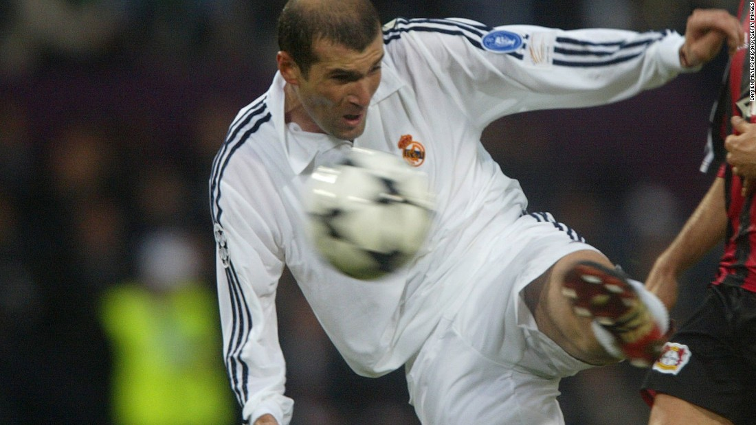 As a player, Zidane was part of the Real Madrid which won the Champions League in 2002. His stunning volley against Bayer Leverkusen in the final is one of the most iconic goals in football history. Madrid fans will hope he can replicate his playing success in the dugout.