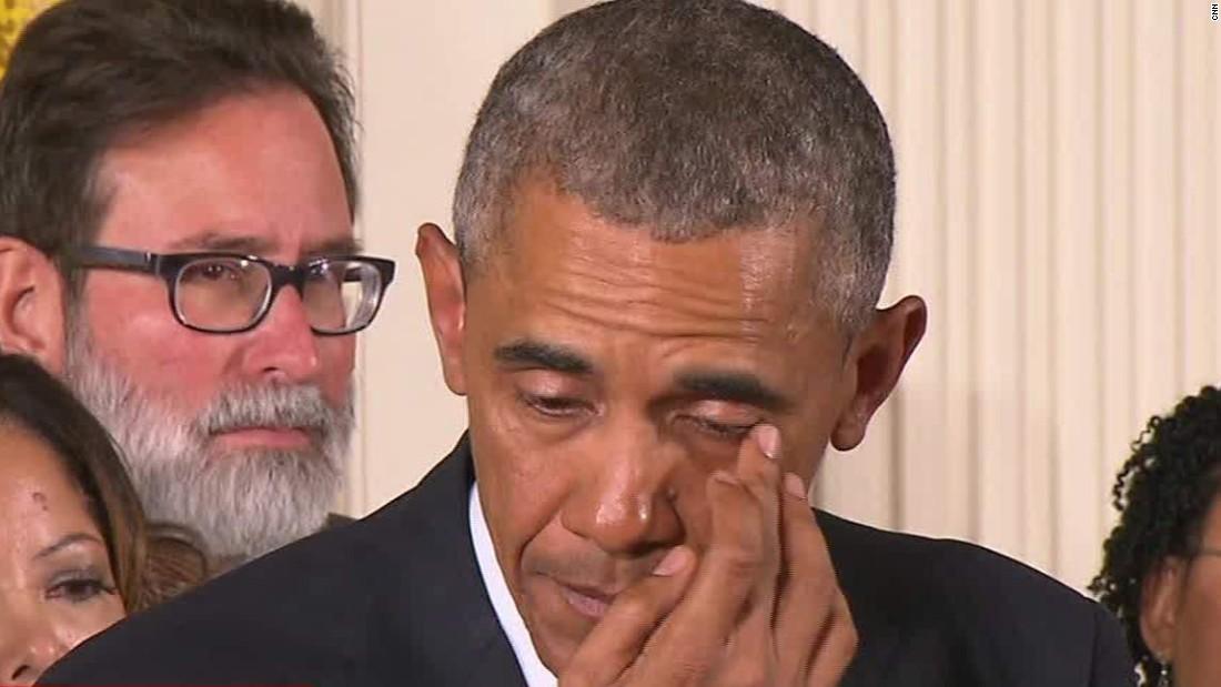 Why Obama cried over gun control
