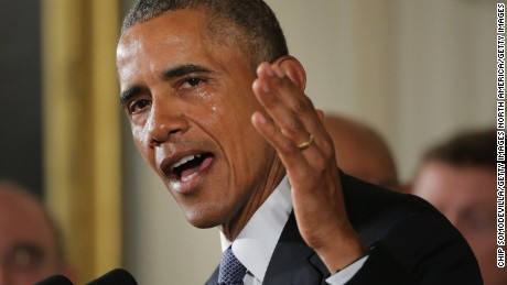 Obama's emotional gun control speech in 90 seconds