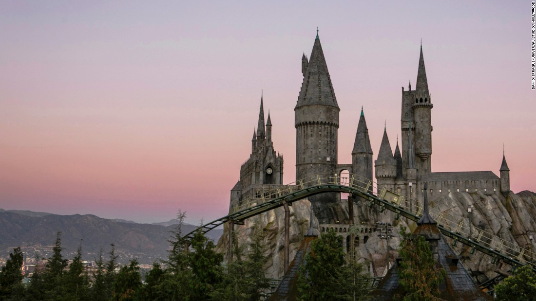 Universal Studios Hollywood opened its Wizarding World of Harry Potter attraction on April 7. The new addition took five years to create.