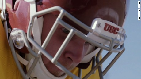 Blind football player defies odds on the field and in life