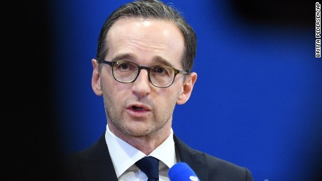 German Justice Minister Heiko Maas addresses the assaults in Cologne.