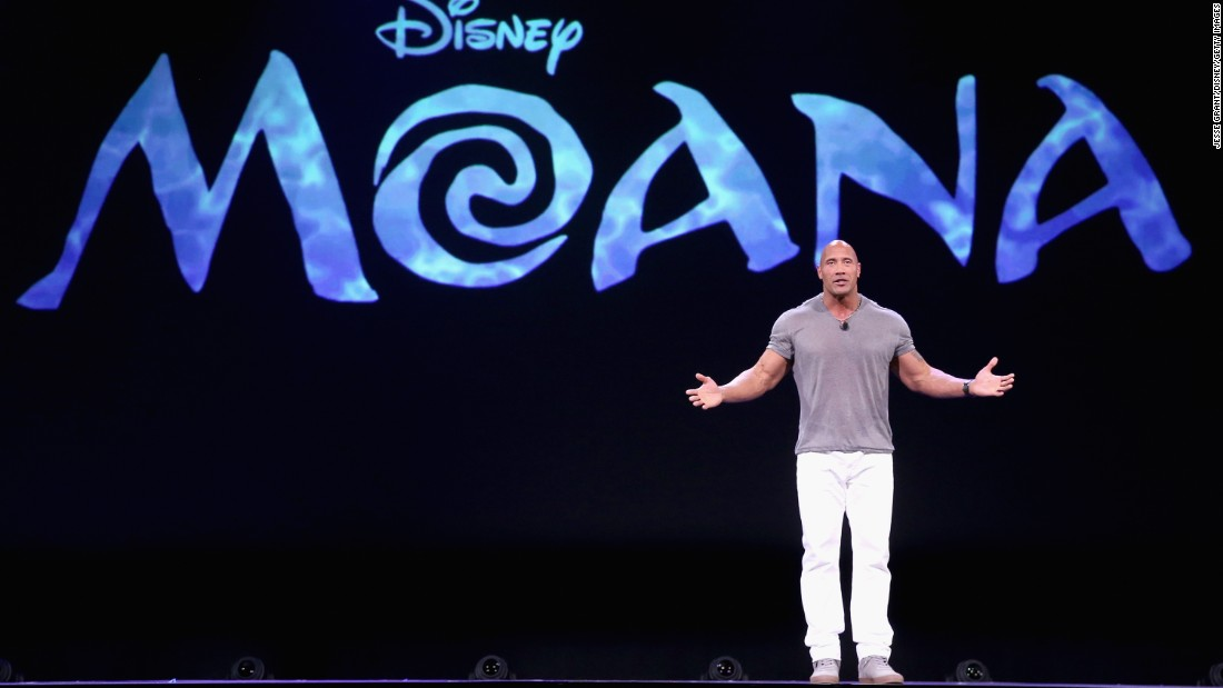 "One of Johnson's many new projects is the Disney animated musical ""Moana,"" in which he plays a demigod. The Polynesian-inspired film was released in November and has been a box-office hit."