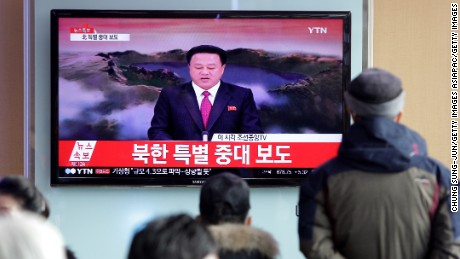 Political cost for North Korea's nuclear test