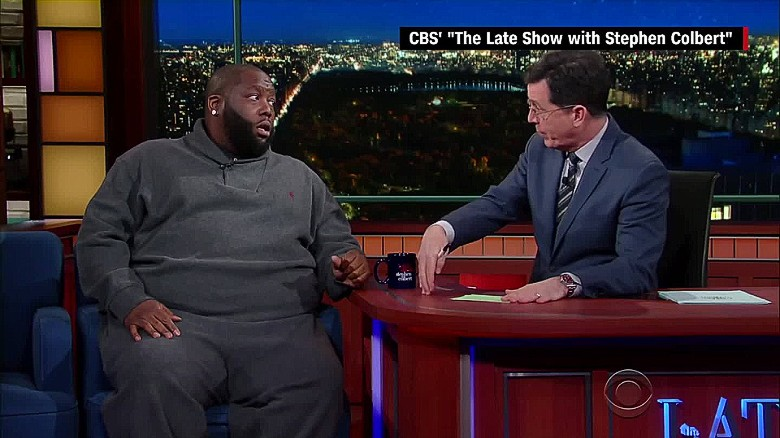 Killer Mike and Stephen Colbert talk race in America