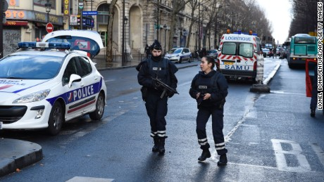 Paris police kill man yelling 'Allahu Akbar'