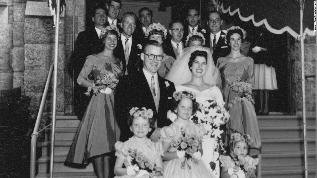 Ashleigh Banfield's mom, Suzanne Holland, was just out of college when she married John Banfield in 1959. He was from an upper-class Winnipeg family and seemed destined for a promising career as an architect.