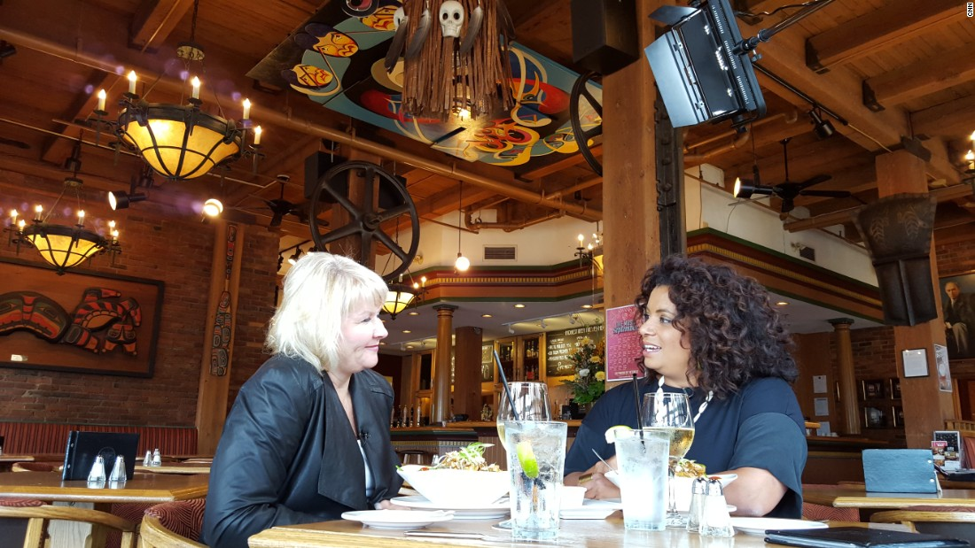 "Moyra  and I at Swan's Brewpub in Victoria, British Columbia, in 2015, revisiting ""the lunch"" that launched my career. ""It really comes down to belief. Belief in someone, belief in a cause, belief in an idea. And Moyra believed in me. She saw something that I didn't see. Not that I didn't want to -- I spent YEARS searching for direction, praying for understanding, looking for answers about what I should do with my life. It seemed to come so easily to others; my elementary school friends declaring they would be a nurse, firefighter, lawyer, farmer when they grew up. In junior high and high school, I had pals who focused their course load to prepare them for careers they already had planned. While I was academic and heavily involved in athletics, student government and drama, I couldn't with absolute certitude say where I hoped my path took me."""
